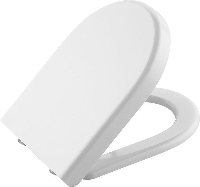 CLAUDIA WC sedátko soft close pro závěsné WC RIMLESS, bílá 70113730