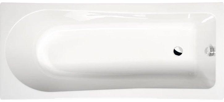 LISA obdélníková vana s podstavcem 160x70x47cm, bílá 86111