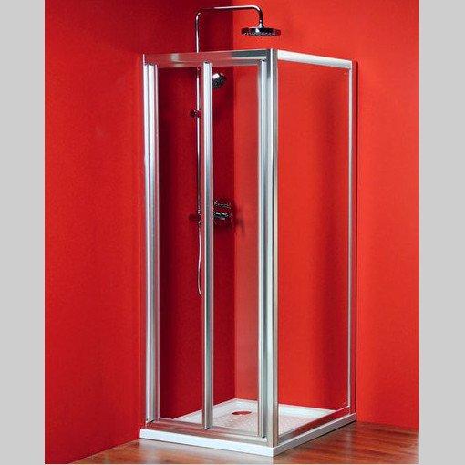 Sigma čtvercový sprchový kout 900x900mm L/P varianta, skládací dveře SG1829SG1569