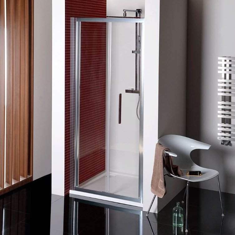 LUCIS LINE skládací sprchové dveře 900mm, čiré sklo DL2815