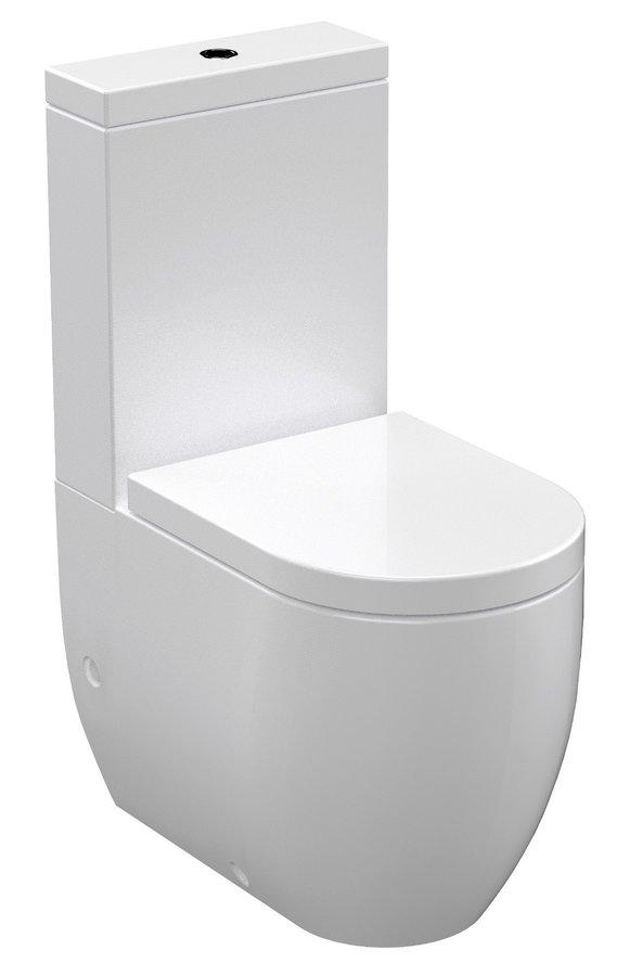 Kombi WC Flo,spodní/zadní odpad WCset11-Flo
