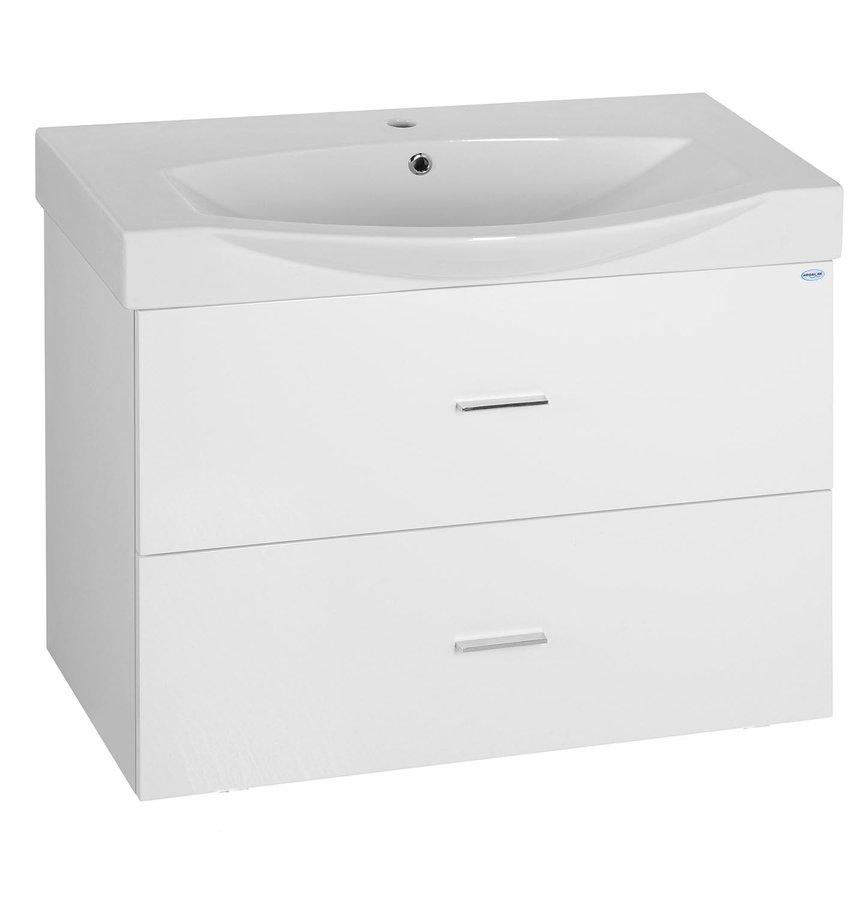 ZOJA umyvadlová skříňka šuplíková 82x40x38,5cm, bílá 51185