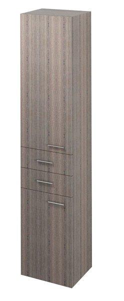 ZOJA/KERAMIA FRESH skříňka vysoká 35x184x29cm, levá, mali wenge 51221