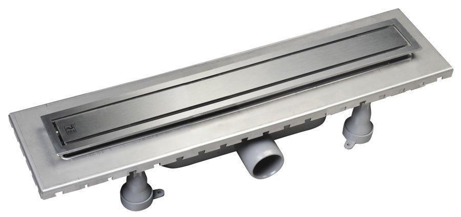 ESSEFLOW 32 nerezový sprchový kanálek s roštem, 320x66x80 mm 6973.101.8