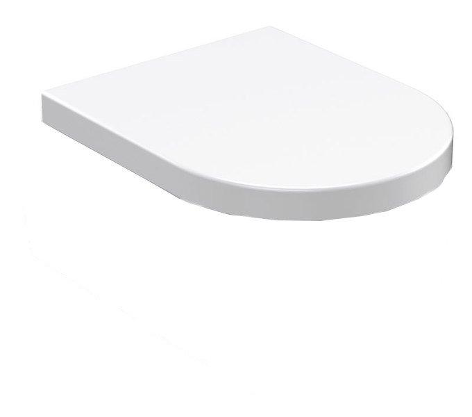 FLO WC sedátko, termoplast, bílá 318901