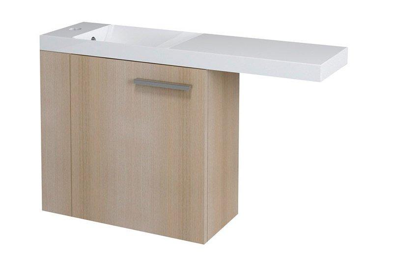 LATUS VI umyvadlová skříňka 50x50x22cm,levá, dub starmood 55855