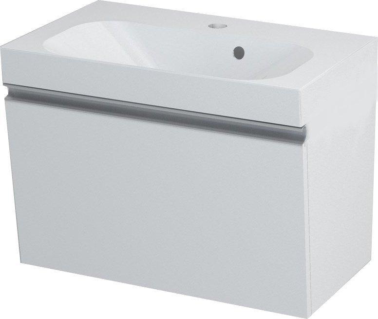 MELODY umyvadlová skříňka 60x38x34cm, bílá 56051