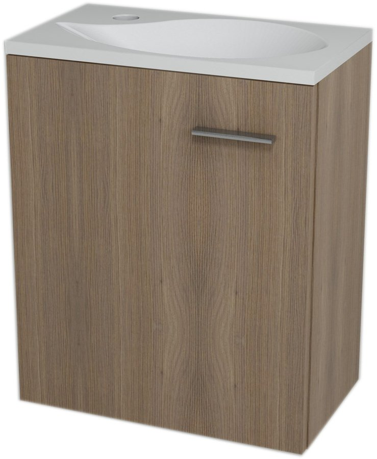 LATUS II umyvadlová skříňka 41,6x50x25cm, Ořech bruno 55590