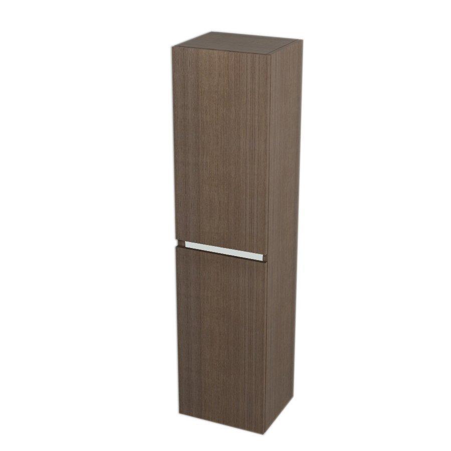Skříňka vysoká s košem 35x140x30cm, levá/pravá, borovice rustik LA352LP