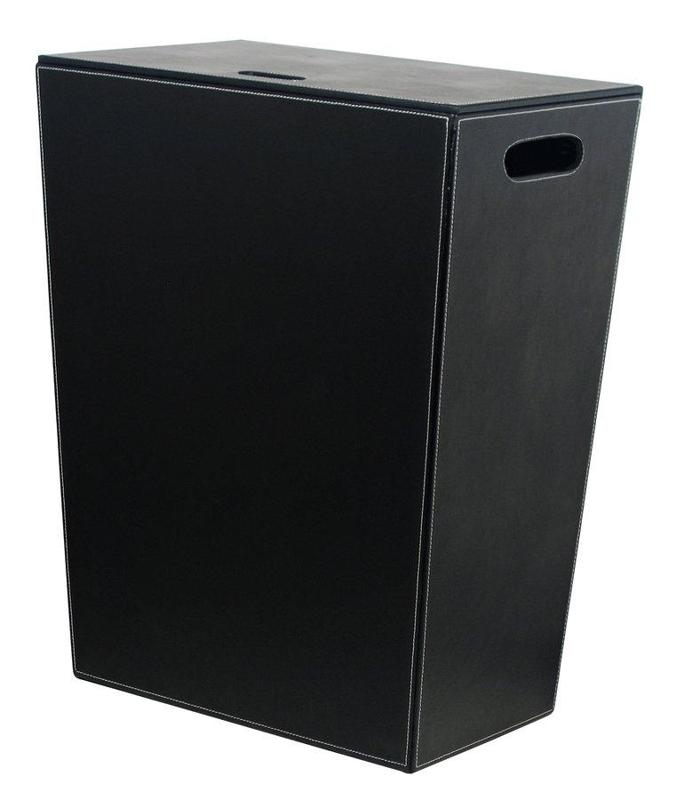 ECO PELLE koš na prádlo 47x60x30cm, černá 2463BK