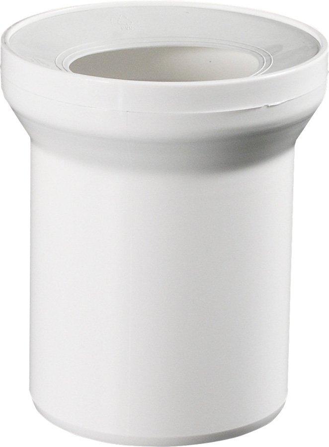 Přímý kus odpadní k WC 15cm 3215