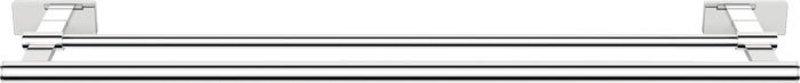 OLYMP dvojitý držák ručníků 550mm, chrom 1321-12