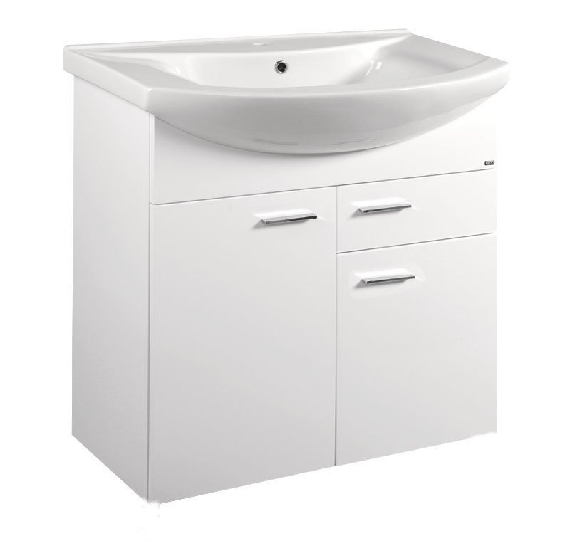 ZOJA umyvadlová skříňka 71,5x74x34cm, bílá 51075