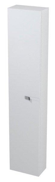 MITRA skříňka vysoká 28x140x16cm, bílá, L/P MT141