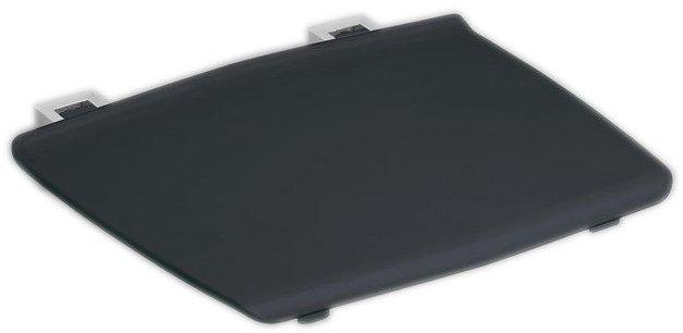GELCO sklopné sedátko do sprchového koutu 32,5x32,5 cm, tmavě šedá GS120G