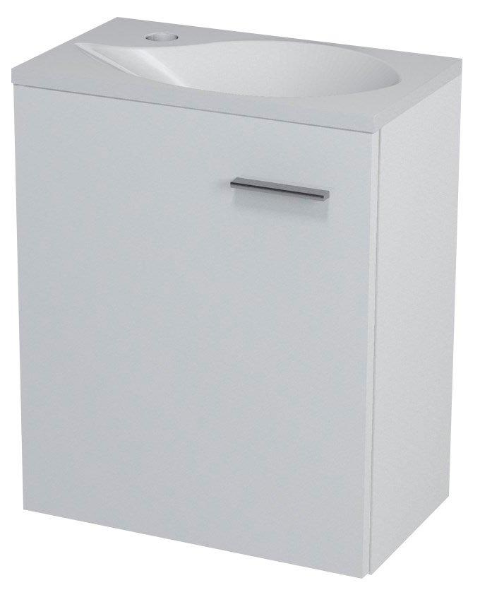 LATUS II umyvadlová skříňka 41,6x50x25cm, bílá 55580