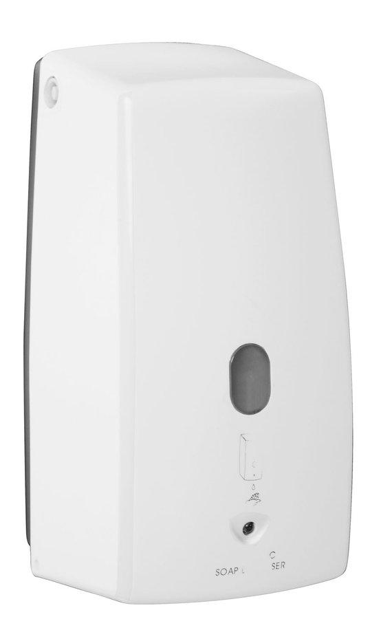 Bezdotykový dávkovač tekutého mýdla 500 ml, bílá 2090