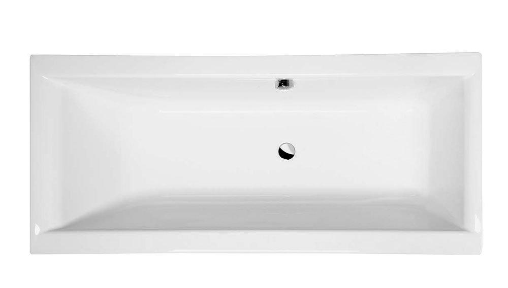 CLEO obdélníková vana s podstavcem 160x75x48cm, bílá 3611