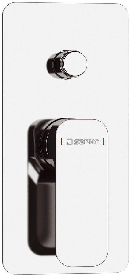 SPY podomítková sprchová baterie, 2 výstupy, chrom PY42