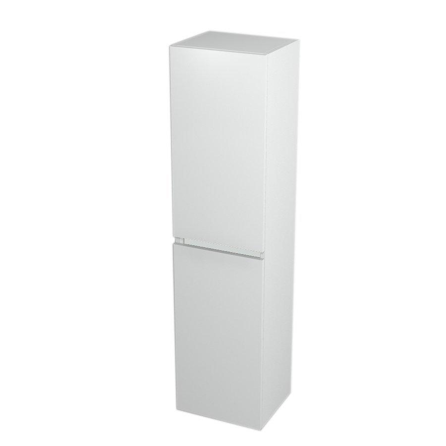 Skříňka vysoká s košem 35x140x30cm, levá/pravá, bílá LA351LP