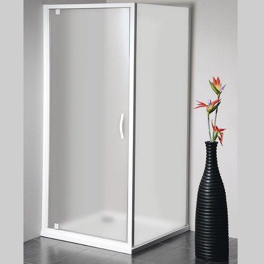 Eterno obdélníkový sprchový kout 900x800mm L/P varianta, sklo Brick GE7690GE4380