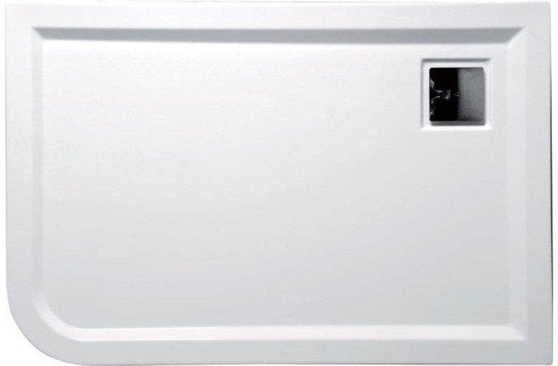 LUNETA sprchová vanička akrylátová, obdélník 120x80x4cm, pravá 59511