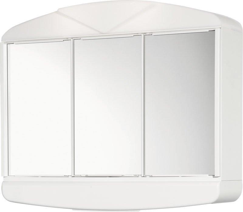 ARCADE galerka 58x50x15cm, 2x14W, bílá plast 411342