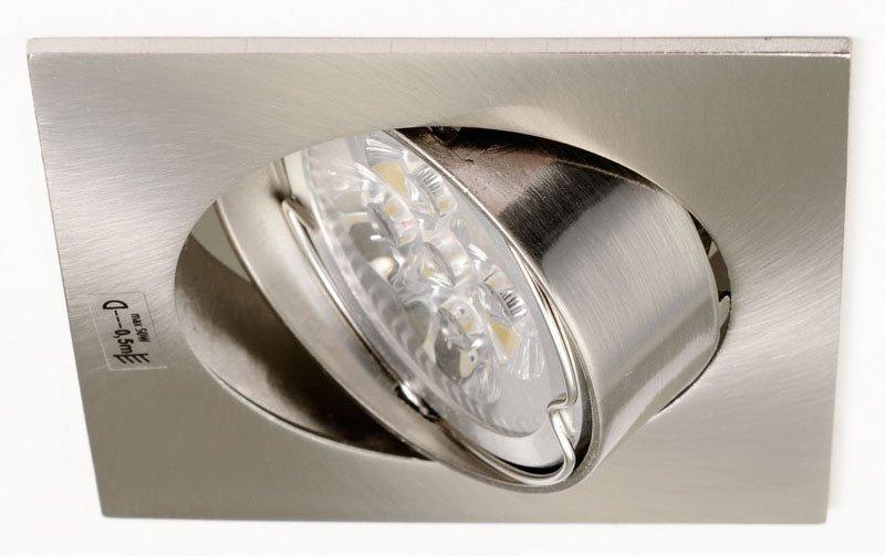 NAVI podhledové svítidlo výklopné, 50W, 12V, matný chrom 2553