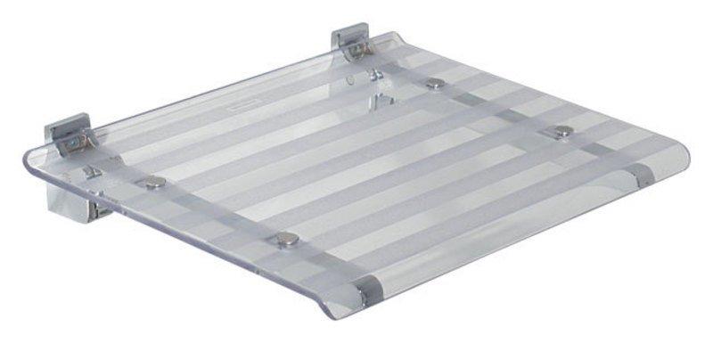 LEO sprchové sedátko 40x31cm, čirá 5368T