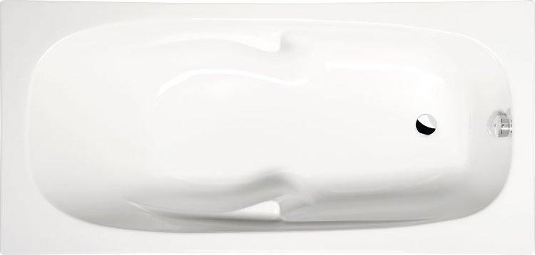 KAMELIE obdélníková vana s podstavcem 170x80x43cm, bílá 35111