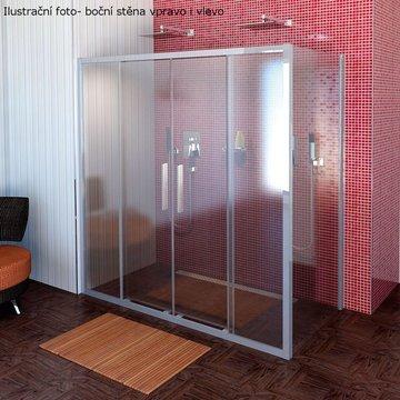 Lucis Line třístěnný sprchový kout 1600x800x800mm DL4315DL3315DL3315