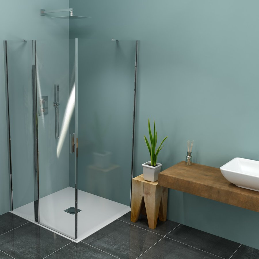 Zoom Line čtvercový sprchový kout 1000x1000mm L/P varianta ZL1310ZL3210