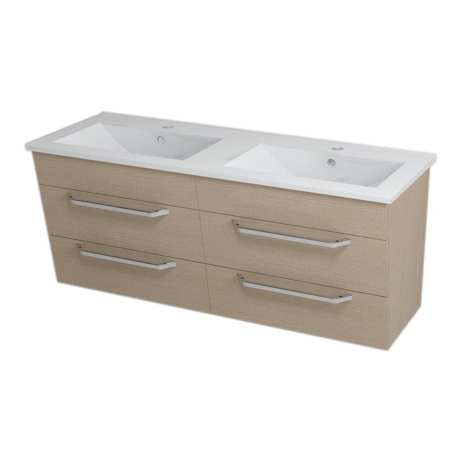 KALI umyvadlová skříňka 120x50x45cm, dub benátský 56123