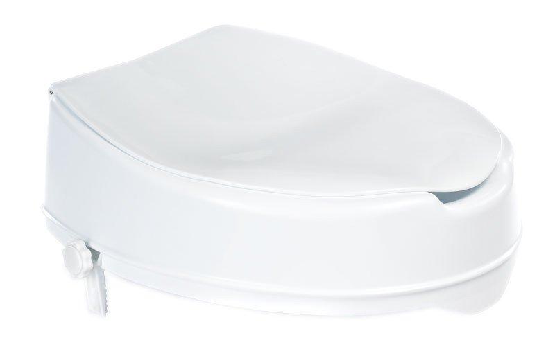 WC sedátko zvýšené 10cm, bez madel, bílá A0071001
