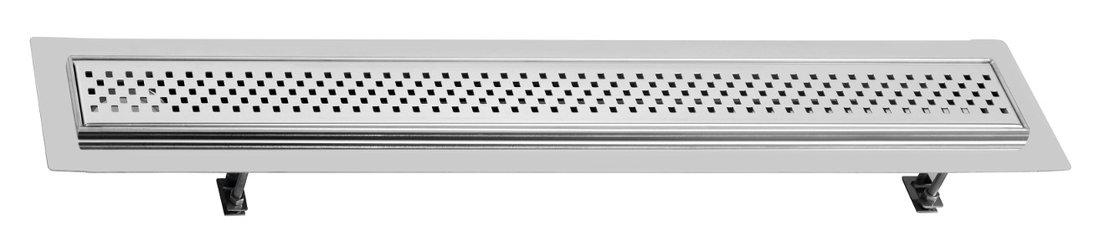 FLOW 97 nerezový kanálek s krycím roštem, do prostoru 970x150mm FP168