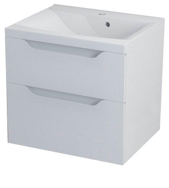 WAVE umyvadlová skříňka 60x65x47,8cm, bílá WA064