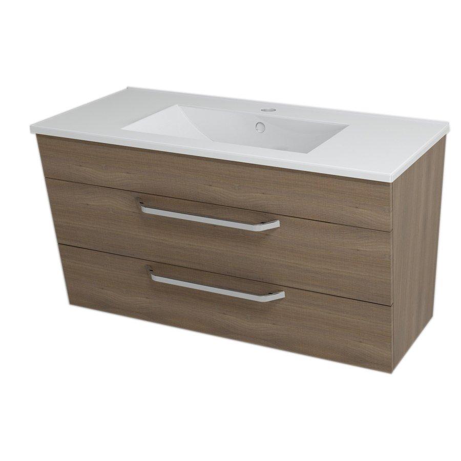KALI umyvadlová skříňka 89x50x46cm, ořech bruno 56092
