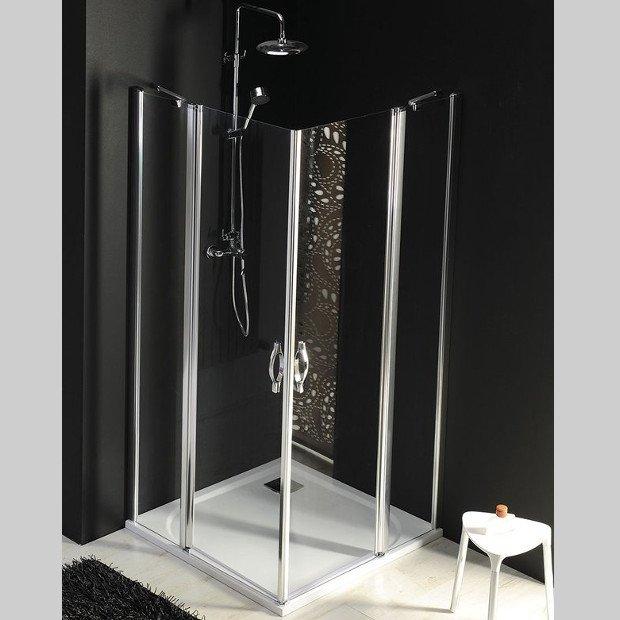 One čtvercový sprchový kout 800x800mm L/P varianta, rohový vstup GO4880GO4880