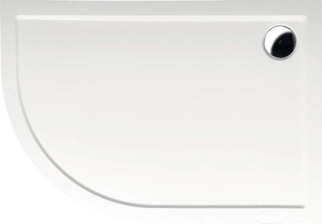 RENA R vanička z litého mramoru, čtvrtkruh 120x90x4cm, R550, pravá 65611