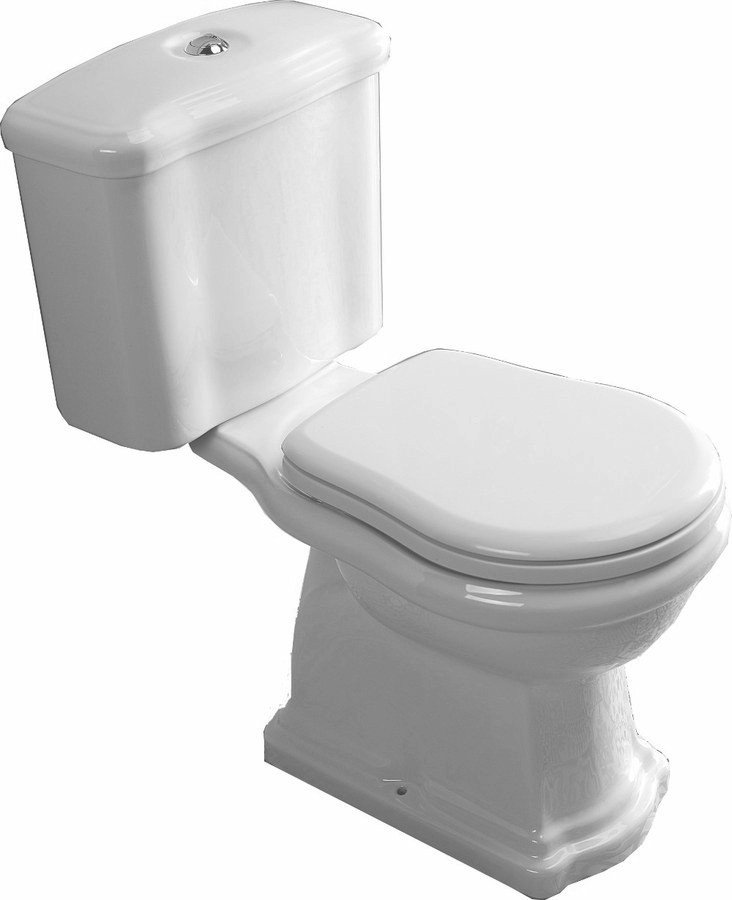 Kombi WC Retro,zadní odpad WCset02-Retro-ZO