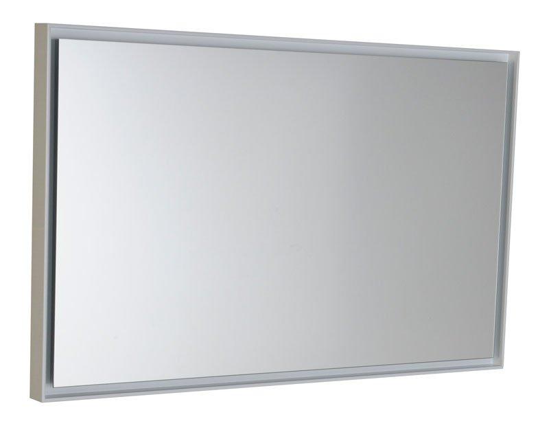 FLOAT zrcadlo s LED osvětlením 900x550mm, bílá 22561