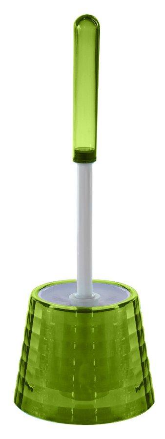 GLADY WC štětka na postavení, zelená GL3304