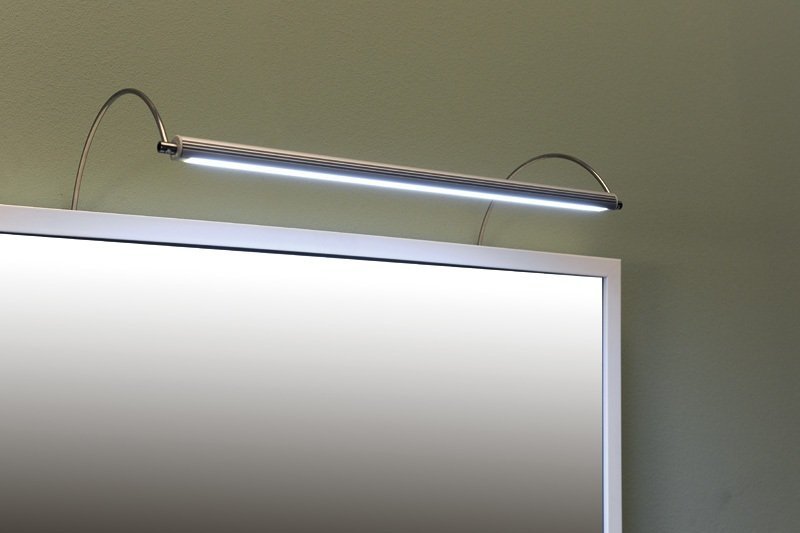 FROMT TOUCH LED nástěnné svítidlo 47cm 7W, sensor, hliník ED547