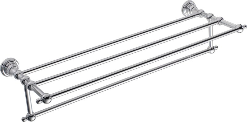 DIAMOND police na ručníky s hrazdou, 605 mm, chrom 1317-14