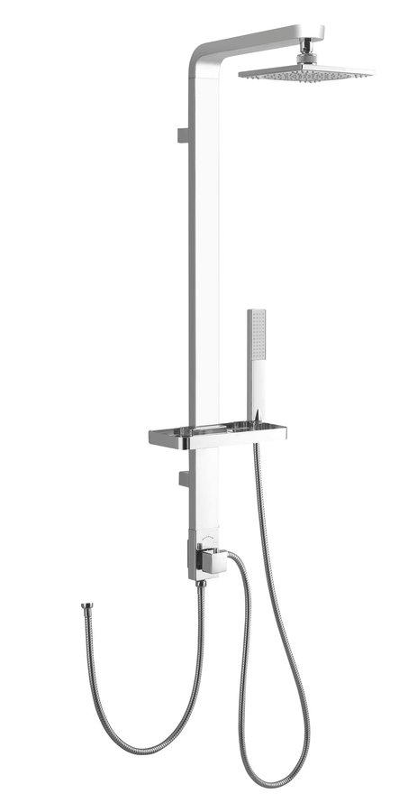 SIGA sprchový sloup, v. 1090mm, hliník SL650