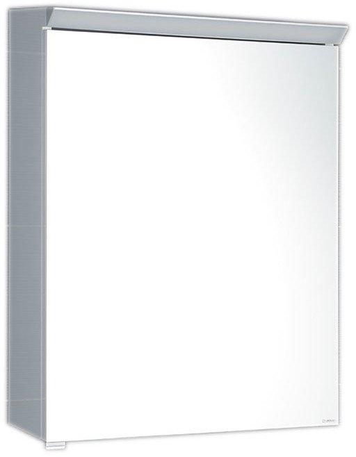 TOBI galerka s LED osvětlením, 60x73x17cm, bílá TB060