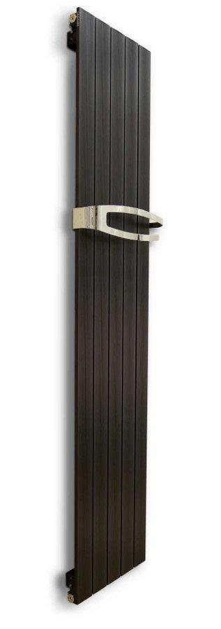 MIMOSA hliníkové otopné těleso 370x1500, metalická černá HL101