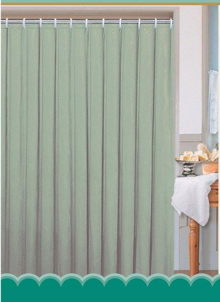 Závěs 180x180cm, 100% polyester, jednobarevný zelený 0201103 Z