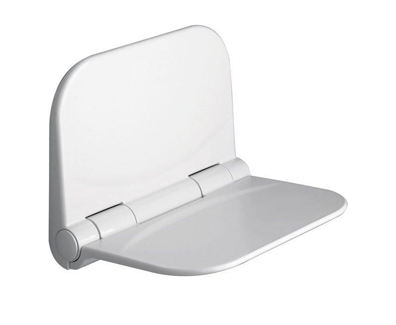 DINO sprchové sedátko, 37,5x29,5cm, sklopné, bílá DI82