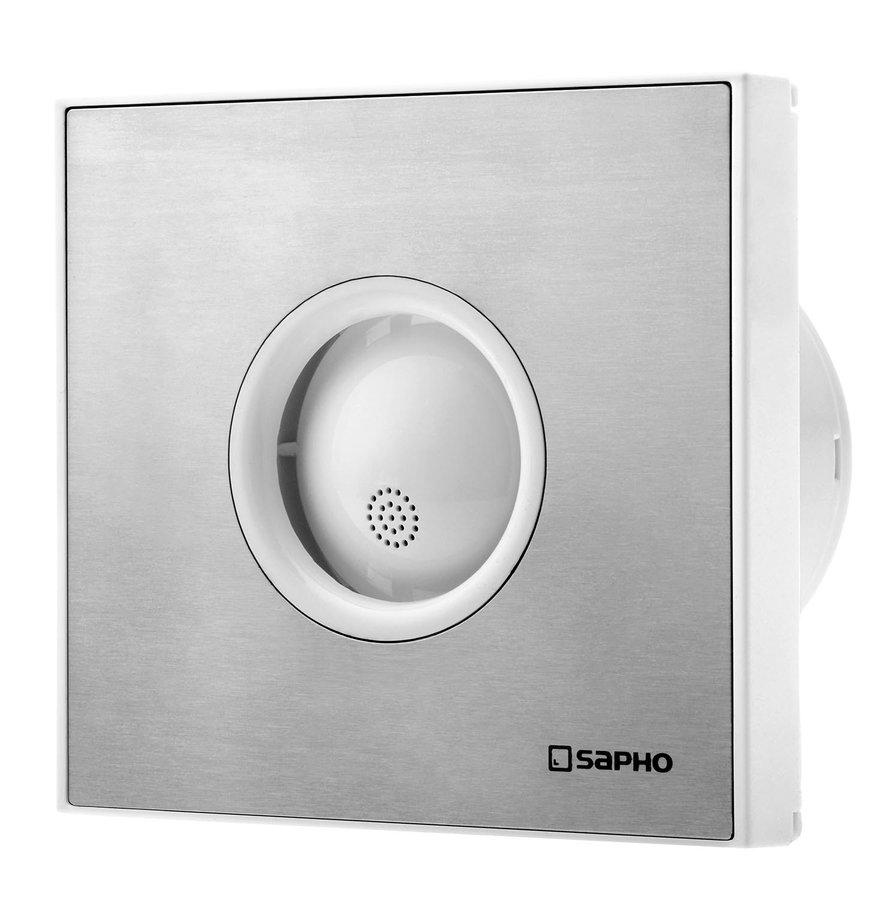 LITE koupelnový ventilátor axiální, 15W, potrubí 100mm, nerez LT105